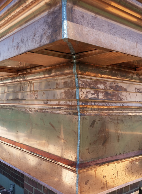 copper cornice sheet metal cornice toronto