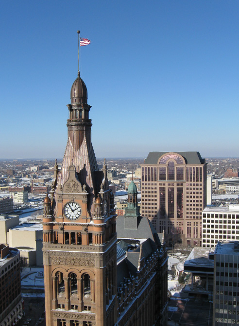 milwaukee copper clock tower domes steeples cupolas gallery