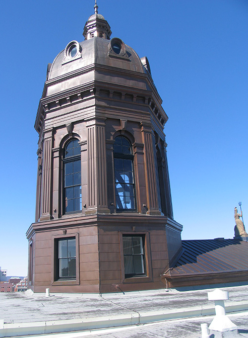 copper cupola new brunswick legislature