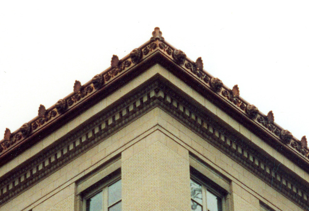 lions head cornice dc sheet metal cornice