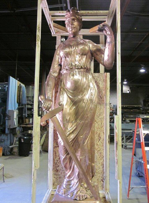 lady justice navarro county texas