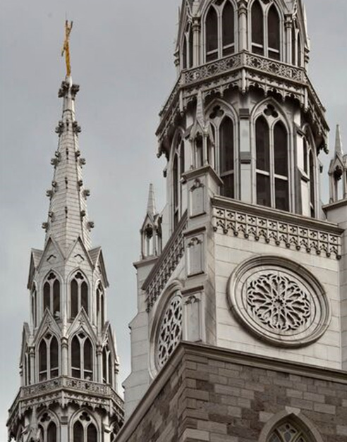 twin steeples notre dame