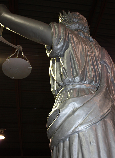 lady of justice statue restored
