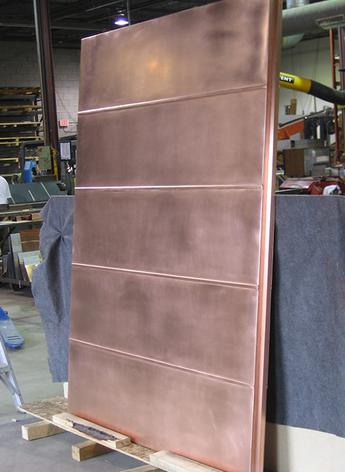 shaw media ottawa copper door upright in shop