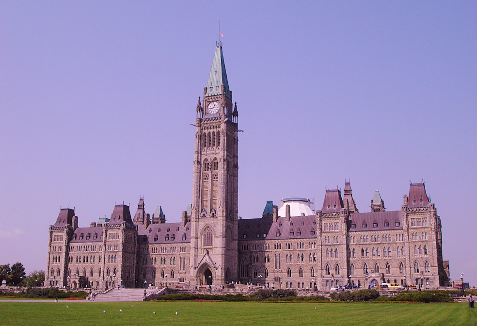 centre block and peace tower