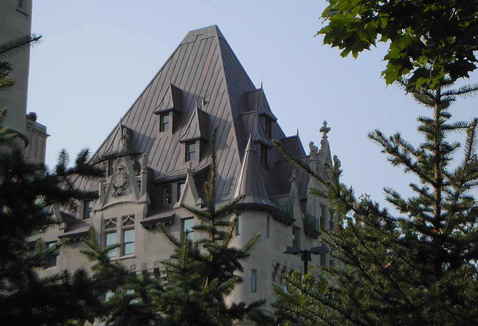 copper turret chateau laurier ottawa