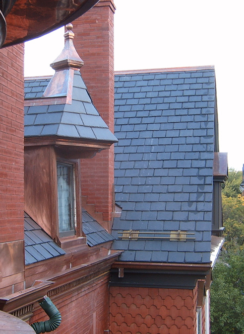 victorian slate roof