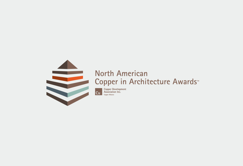 winner of 2012 north american copper in architecture award